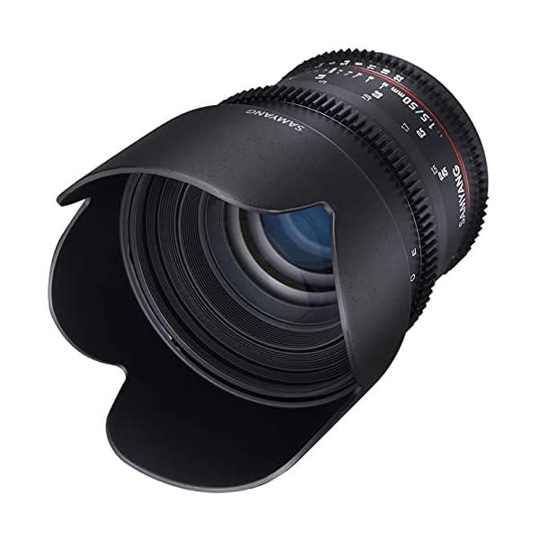 RetinaPix Samyang 1:1.5 50 mm AS UMC T1.5 Standard Angle VDSLR Lens for Sony E Mount, (Model: 7443), Black