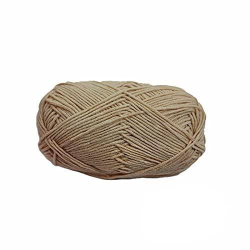 1 pieza de lana para tejer, hilo suave acrílico, algodón cálido, hilos para tejer a mano, bufanda...