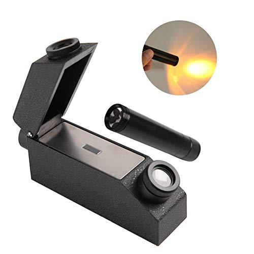 Jewelry Refractometer, RHG181 1.30-1.81 Professional Gemstone ldentification Gem Refractometer