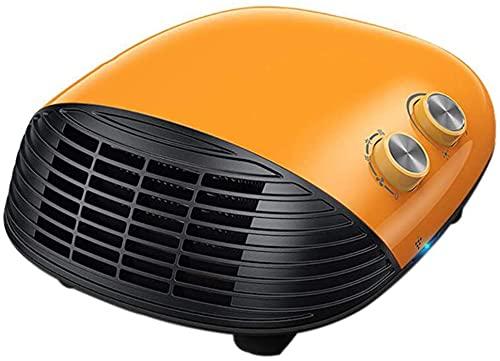 WANQPPS Calentador Personal de Calentamiento rápido, Calentador de baño, termostato Ajustable, Calentador eléctrico portátil para el hogar/baño, Doble Uso Termoventiladores y calefactores cerá