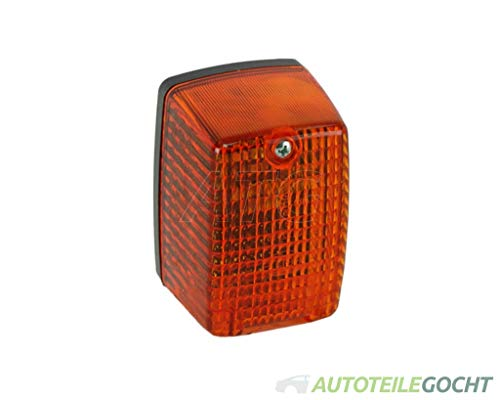 HELLA 2BM 002 652-071 Zusatzblinkleuchte - P21W - 12V - Lichtscheibenfarbe: gelb - Einbauort: links/seitlicher Anbau
