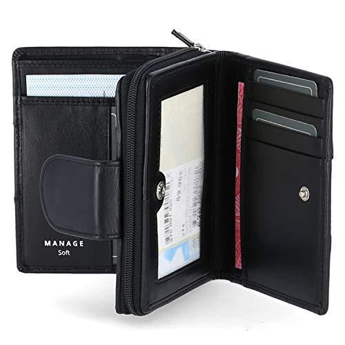 Manage Geldbörse Größe One size Schwarz (Schwarz)