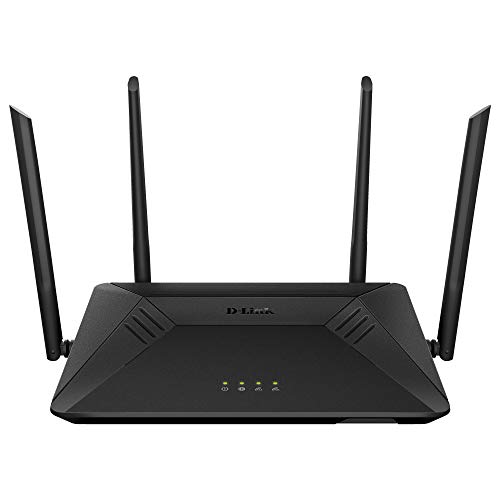 D-Link WiFi Router, AC1750 Wireless Internet for Home Gigabit Streaming & Gaming Smart Dual Band MU-MIMO Parental Controls QoS (DIR-867-US), Black