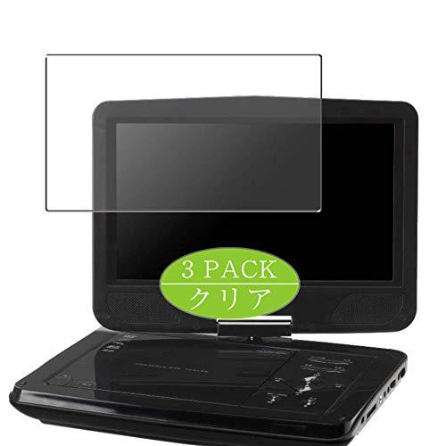 Vaxson Pack de 3 protectores de pantalla, compatible con Green House GH-PDV10MC-BK/pdv10mt/pdv10m/pdv10v/pdv10e 10 pulgadas, protector de película de TPU [no protectores de vidrio templado]