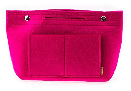 Bag in Bag - Toilettas - Make-up tas handtas Organizer - Bag in Bag - Toilettas, roze (roze) - 800221