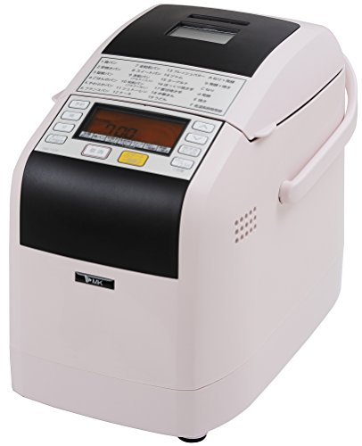 エムケー精工(MK精工) 自動ホームベーカリー [ふっくらパン屋さん] 1斤/1.5斤選択 (米粉パン/天然酵母パン対応) [残りごはんでパンがつくれる] ピンク HBK-152P
