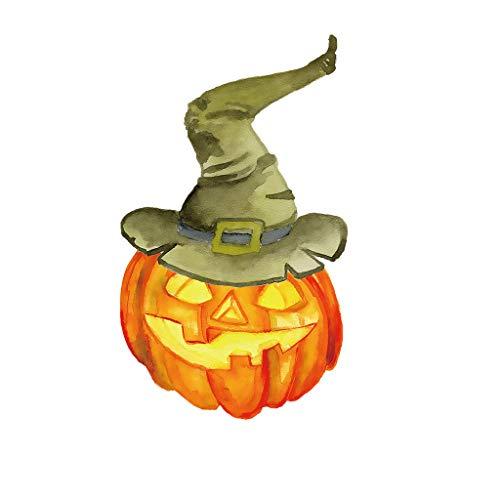 Myspace 2019 Neueste Dekoration für Halloween Halloween Kürbis Wandaufkleber Wohnzimmer Schlafzimmer Dekor Aufkleber Wohnzimmer DIY (C)