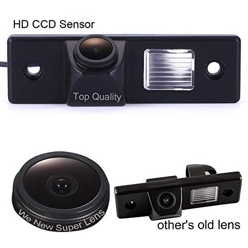 Caméra de recul de Plaque d'immatriculation, 1000TV Super Pro Lens, Système de recul par capteur de recul, pour Chevrolet Captiva/Epica/Cruze/LOVA/Aveo/Lacetti Orlando/Spark/Matiz/HHR 2012-2014