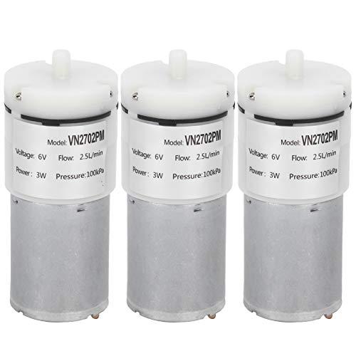 Micro bomba de agua Práctica confiable Bomba de vacío segura y estable para pecera DC 6V Bomba de diafragma Micro Bomba de aire Hotel para Park Aquarium Home