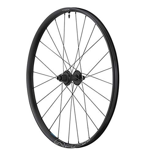 Shimano - Rueda para bicicleta de montaña de 29' MT620, disco central central de 12 V, color negro tubeless eje 12-148 – Ancho de llanta exterior 34,5 mm