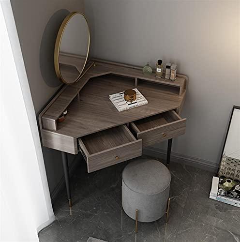 SHUJINGNCE Coiffeuse Chambre Petite Appartement Coin Armoire Armoire Une Table de Coiffeuse Minimaliste (Color : 1)