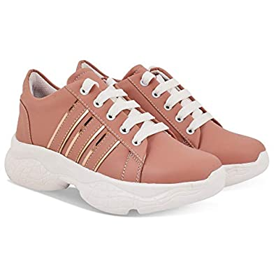 Creattoes Women Sports Shoes Chunky Sole Sneakers for Women Walking Gym Running
