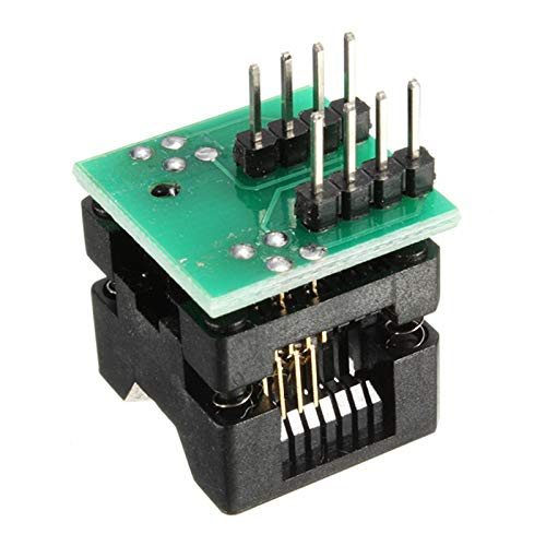 BIMUS 1pc SOIC 8 SOP 8 Um DIP 8 Buchse Konverter-Modul Programmierer Output Power Adapter mit 150mil Stecker SOIC8 SOP8 Um DIP8 EZ