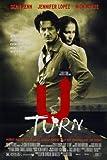 U Turn - Sean Penn – Film Poster Plakat Drucken Bild –