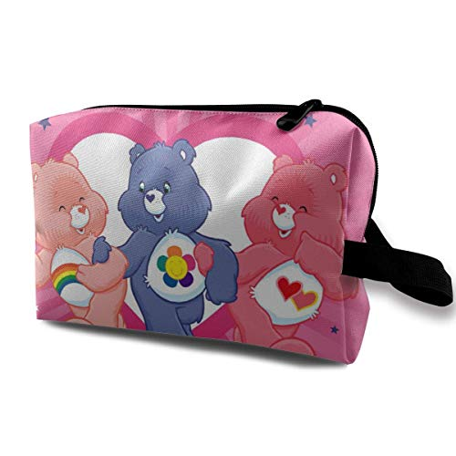 Care Bears Travel - Neceser de maquillaje impermeable para hombres y mujeres
