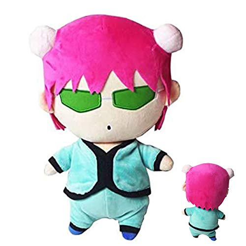 Anime The Disastrous Life of Saiki K. Saiki Kusuo Cosplay Plush Doll Toy Pillow Gift for Boys Girls