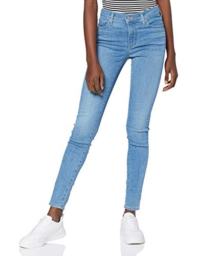 Levi's 310 Shaping Super Skinny Jeans, Quebec Lake, 31W / 32L para Mujer