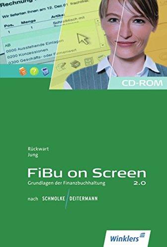 FiBu on Screen - Grundlagen der Finanzbuchhaltung nach Schmolke / Deitermann: CD-ROM, Einzelplatzlizenz