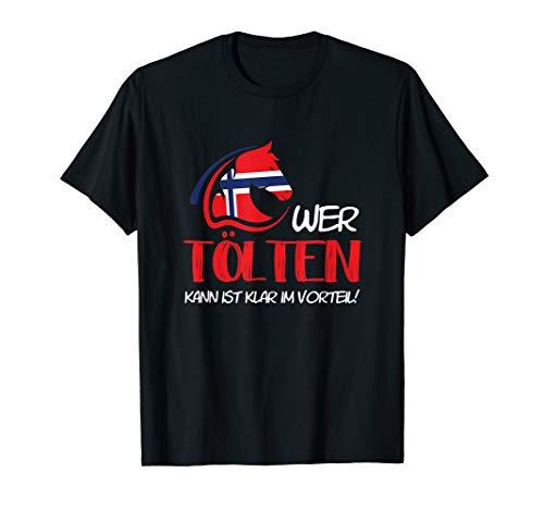 Isländer Islandpferd Stall Islandpony Reiter Geschenk T-Shirt