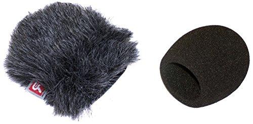 Rycote 055410registratore digitale schiuma parabrezza e mini kit filtro antivento per zoom H1
