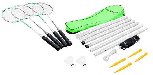 HUDORA Badminton-Set mit Netz - ...