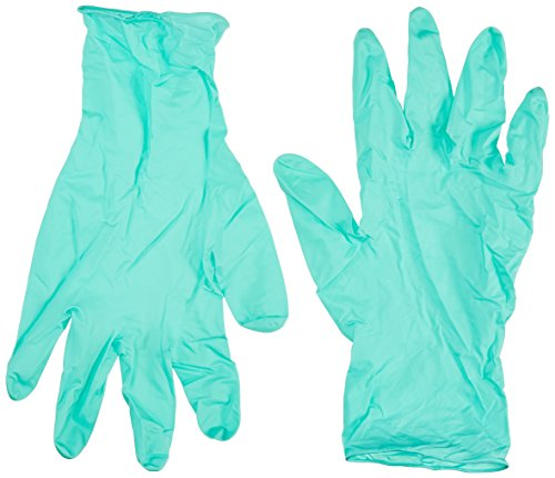 "BarrierSafe Solutions International NEC-288-XXL Microflex NeoPro EC 6.3 mil Chloroprene Ambidextrous Non-Sterile Powder-Free Disposable Gloves with Textured Fingers, XX, 12"", Green"