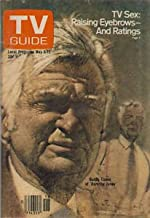 TV Guide May 6-12, 1978 (Buddy Ebsen of Barnaby Jones; TV Sex: Raising Eyebrows-And Ratings, Volume 26, No. 18, Issue #1310)
