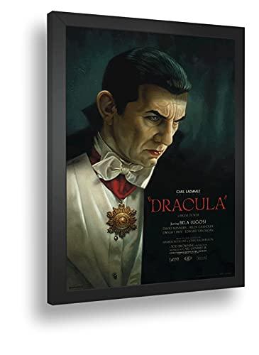 Quadro Decorativo Poste Dracula De Bram Stoker Classico