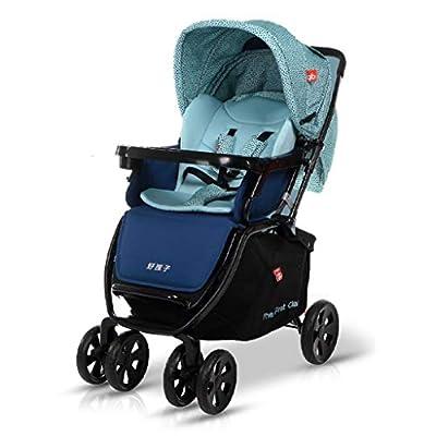 baby stroller Cochecito Plegable portátil, Empuje bidireccional libremente Ajustable, Cochecito de Viaje Compacto, Cesta de Almacenamiento, toldo Ajustable de Varios Niveles