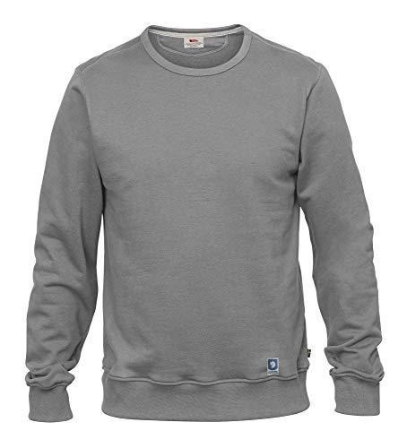 FJÄLLRÄVEN Herren Greenland Pullover, Grey, XL