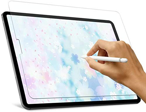 Screen Protector for iPad Air 4 10.9-Inch, iPad Pro 11-Inch (2020/2018), [ Tempered Glass ] [ Bubble-Free ] [ Anti-Scratch ] Apple Pencil Compatible for New iPad Air 4, iPad Pro 11-Clear (Transparent)