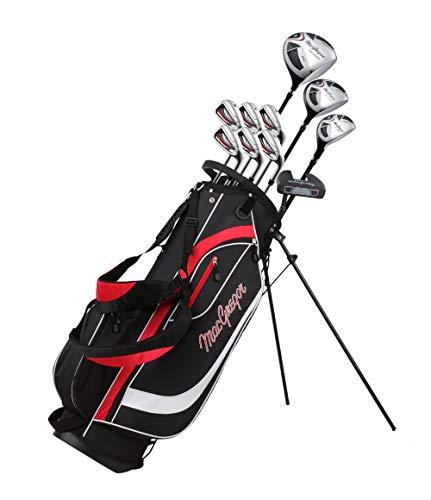MacGregor Men's CG2000 GRAPHITE STAND BAG Golf Package Set,...