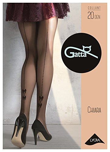 Gatta Chiara 04-20den - Größe 3-M - Nero-schwarz