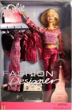 Barbie Fashion Designer Doll with Fashion to Mix and Match 23 Outifts