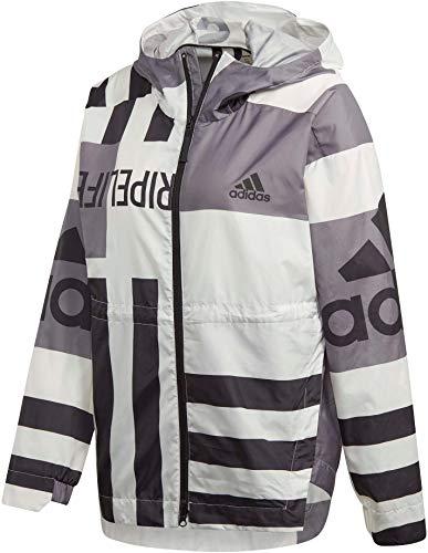 adidas Damen W URB AOP W.RDY Sport Jacket, core White, S