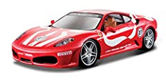 1:24 scale model Diecast metal body with plastic parts Opening doors Opening engine compartment Full function steering