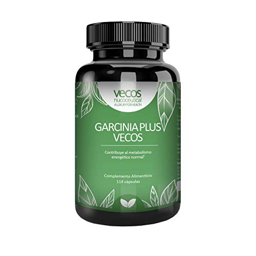 Extracto Seco de GARCINIA CAMBOGIA 3000 mg por dosis con Vitamina C y Cromo. Quemagrasas Natural Termogénico Inhibidor del apetito adelgazante Metaboliza Grasas