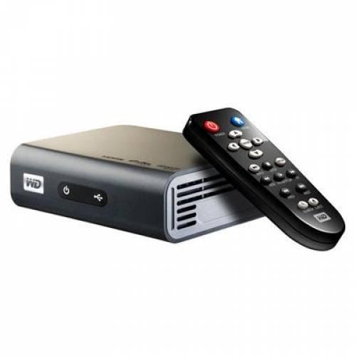 Western Digital WD TV HD Live Reproductor Multimedia y Grabador de Sonido Negro - Reproductor/sintonizador (BMP,GIF,PNG, VOB, Ass,SMI,SRT,SSA,Sub, AAC,FLAC,MKA,MP3,OGG,WMA, Negro, 125,5 mm)