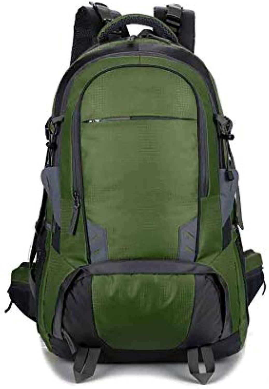 LXJL Reisetasche groe Kapazitt Camping Outdoor-Tasche Mnner und Frauen Bergsteigenbeutel Schulter Wasserabweisende Tasche,E