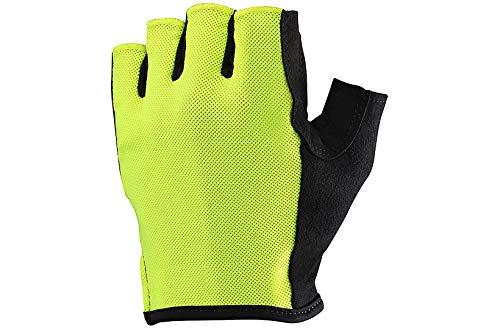 MAVIC Essential Fahrrad Handschuhe kurz gelb 2019: Größe: L (10)
