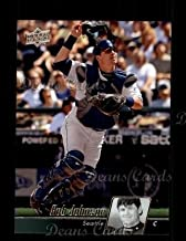 2010 Upper Deck # 457 Rob Johnson Seattle Mariners (Baseball Card) Dean's Cards 8 - NM/MT Mariners