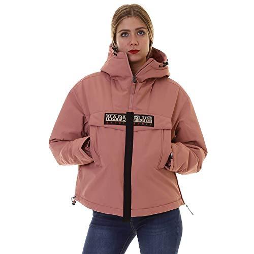 NAPAPIJRI - Anorak Skidoo para mujer, Color Rosa, Talla L