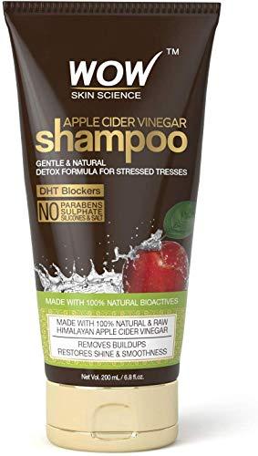 Glamorous Hub WOW Skin Science Champú de vinagre de sidra de manzana 200 ml (el empaque puede variar)