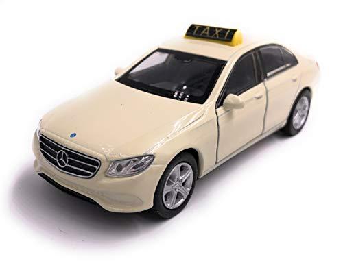 H-Customs Welly Mercedes Benz E Klasse Taxi Modellauto Auto Lizenzprodukt 1:34-1:39