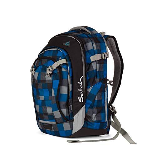 satch Match, Airtwist ergonomischer Schulrucksack, erweiterbar auf 35 Liter, extra Fronttasche