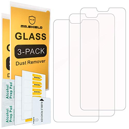 [3-PACK]-Mr.Shield For Huawei Honor 8X [Tempered Glass] Screen Protector [Japan Glass With 9H Hardness] with Lifetime Replacement