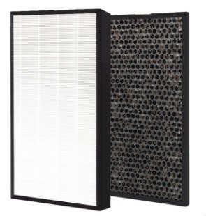Nispira HEPA Air Filter Plus Carbon Pre Filter Replacement Compatible with Levoit Air Purifier LV-PUR131, 1 Set