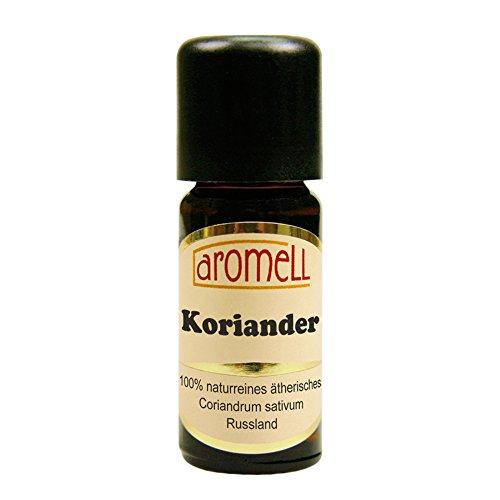 Koriander - 100% naturreines, ätherisches Öl aus Russland, 10 ml