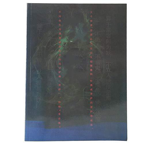 Libro de plantilla de tatuaje profesional, 32 páginas Patrón de Buda Libro de...