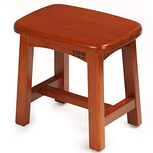 L-DZJUYILXY stoel van massief ahornhout kleine kruk voor het wisselen van schoenen, meubels, geen montage nodig